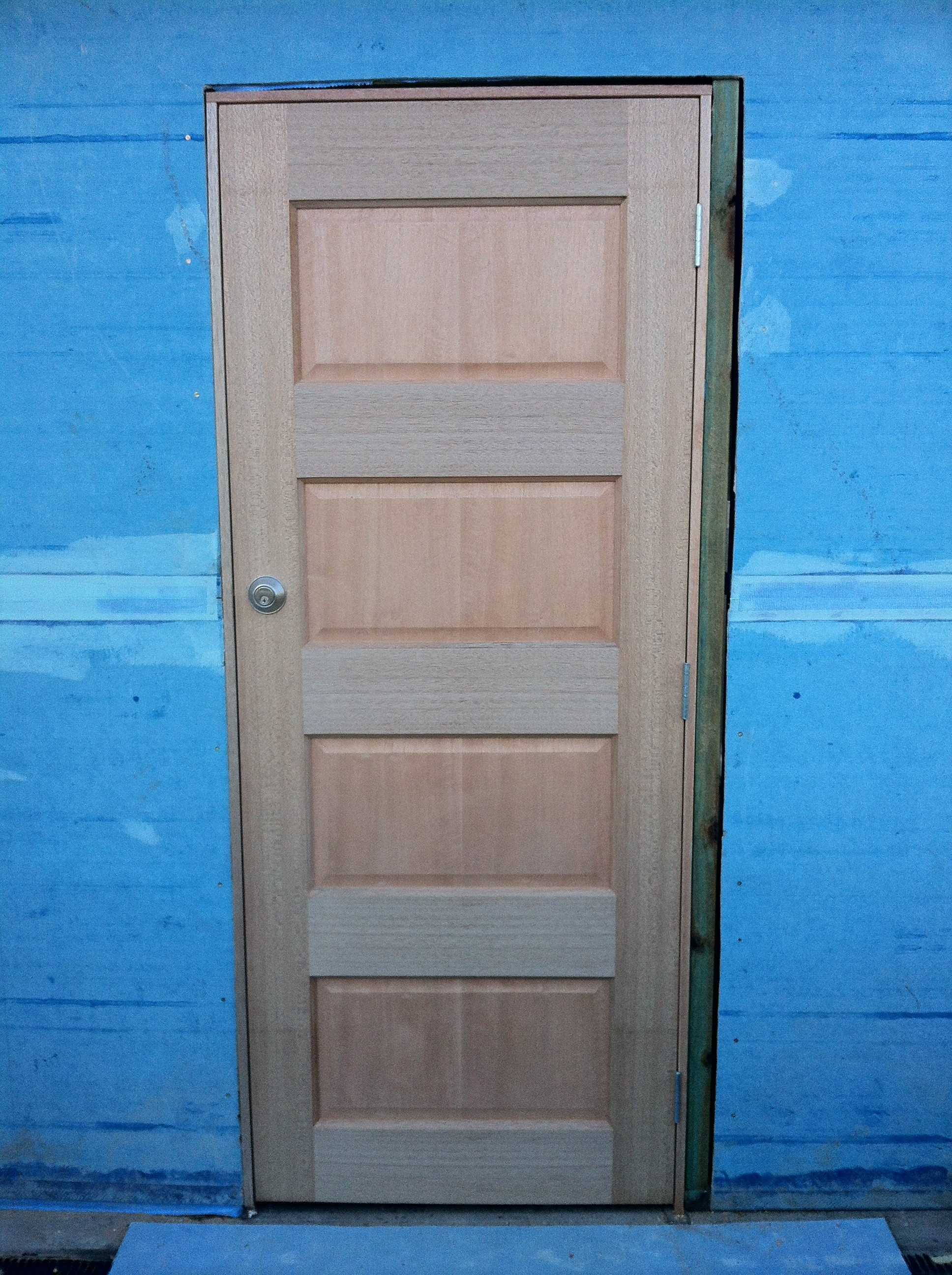 18 - New Entry Door And Jamb