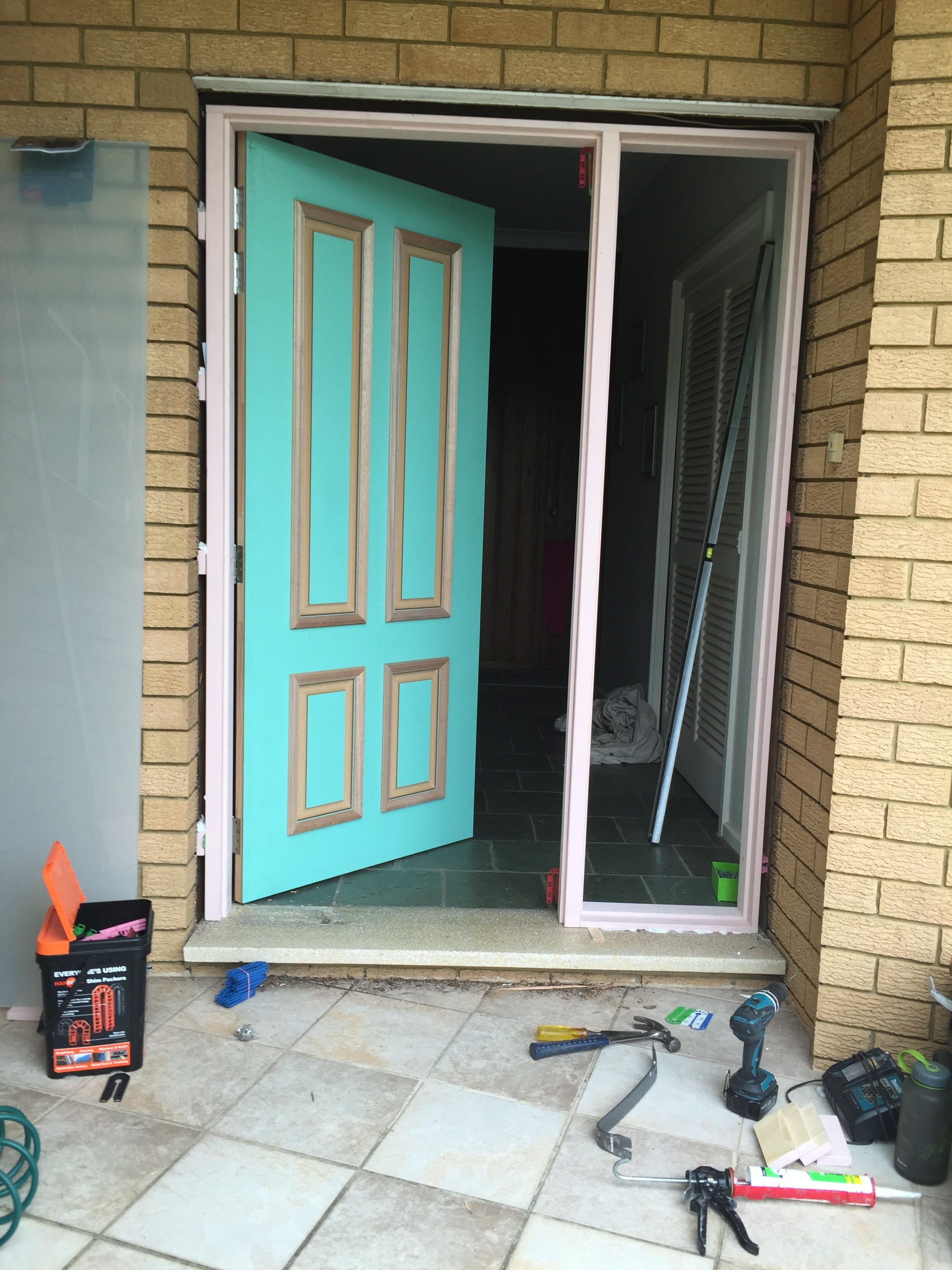 1b - New Jamb With Wider Door Fitted