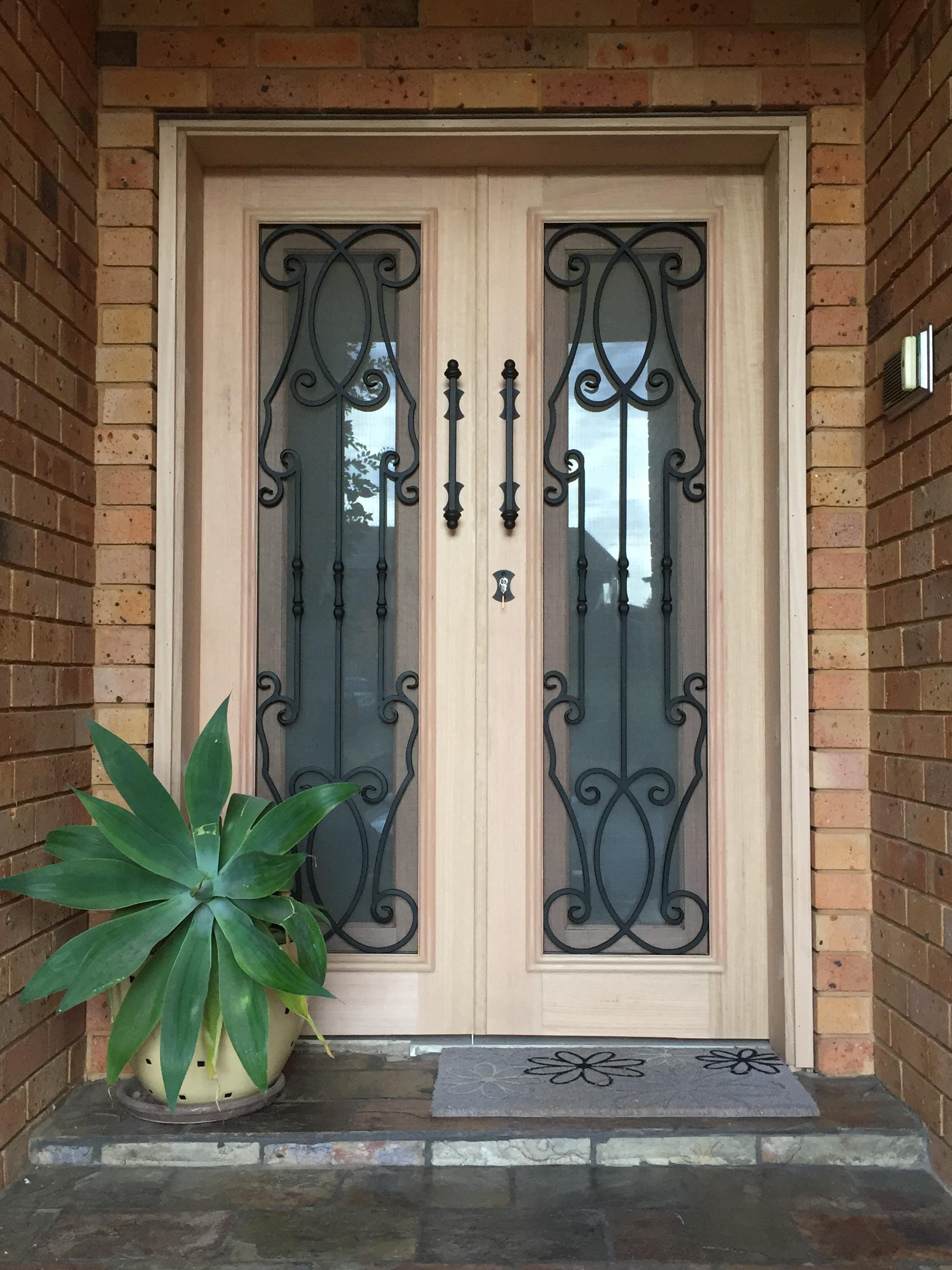 1g - Wrought Iron Doors