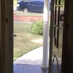 2 - Screen Door, Stainless steel Mesh