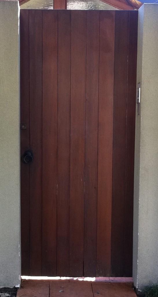 2 - Timber Door
