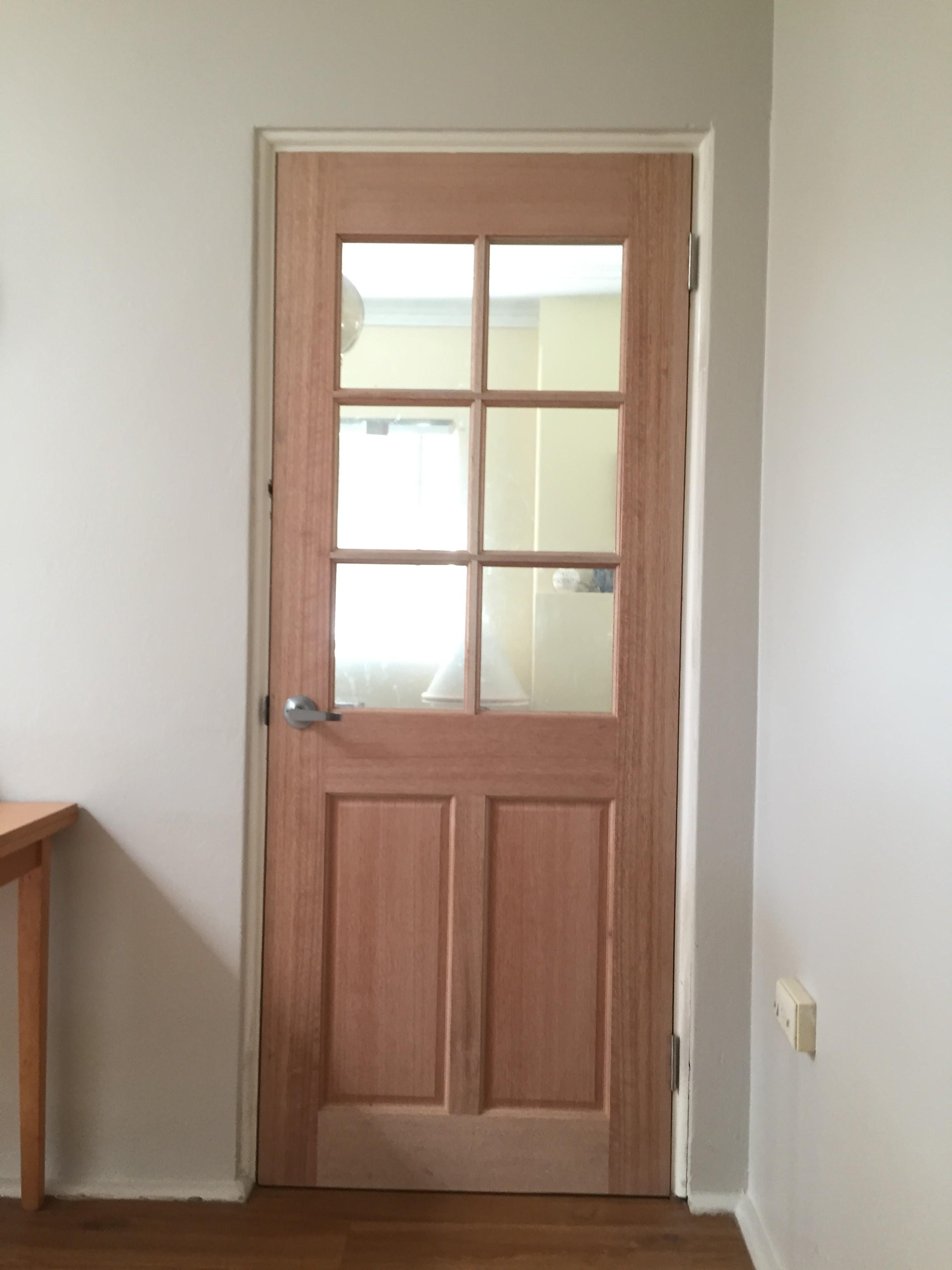 2b - 6 Light Paneled Door