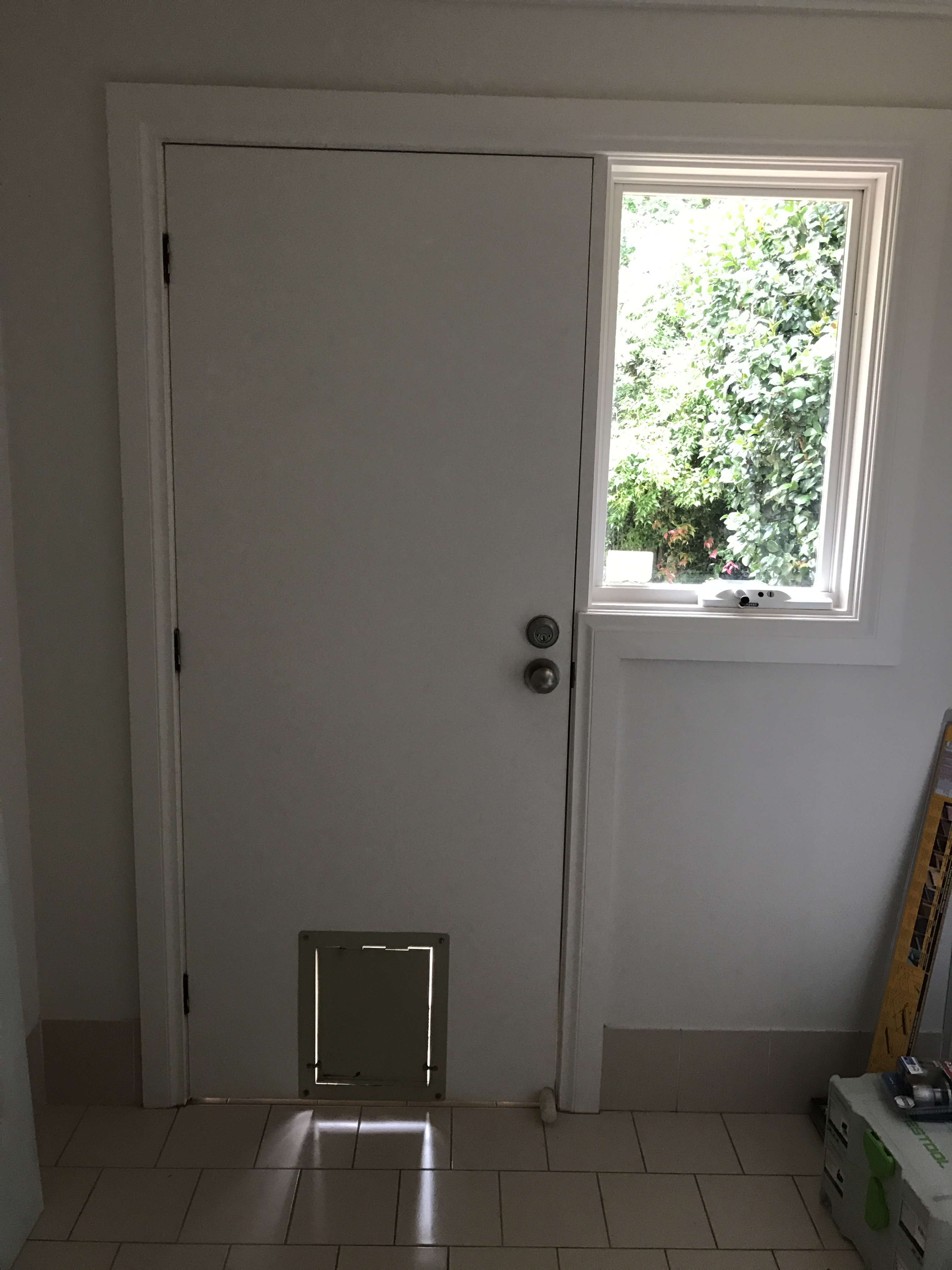 2c - Replace Laundry Door