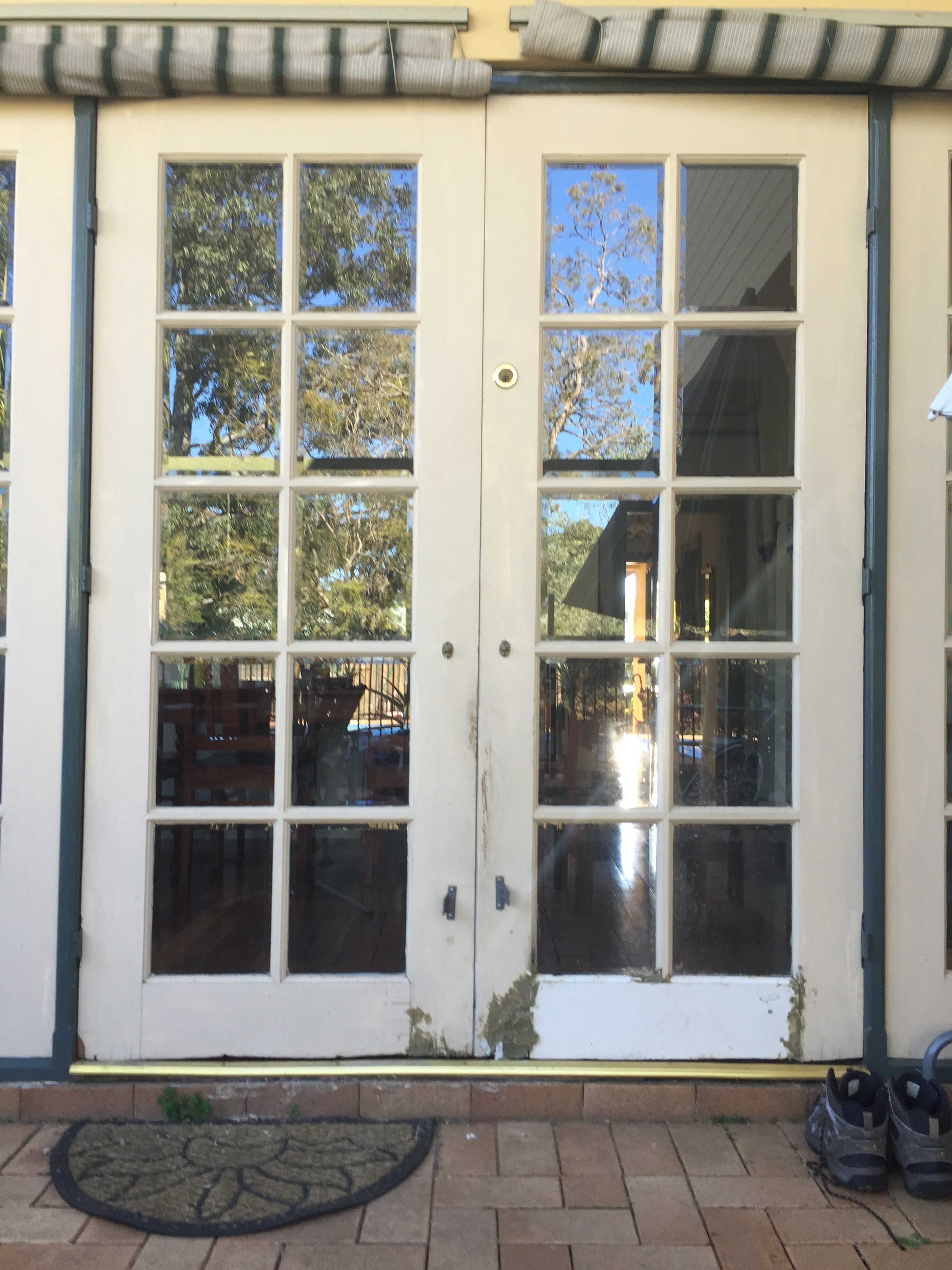 3 Replace 10 Lite Doors With Bevel Edged Glass