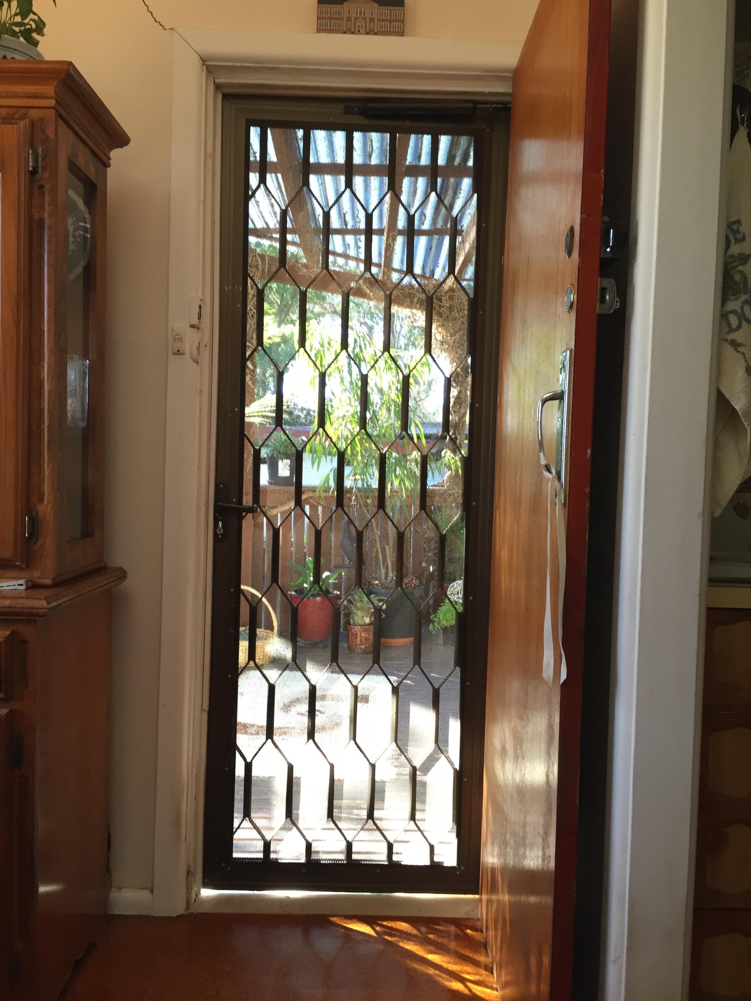 3c - Old Screen Door