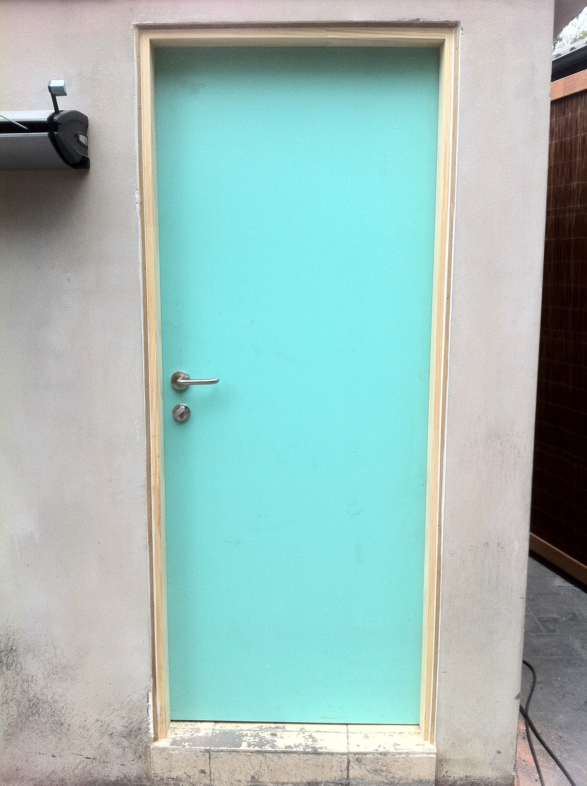 4b - New Solid Door, Jamb _ Trim