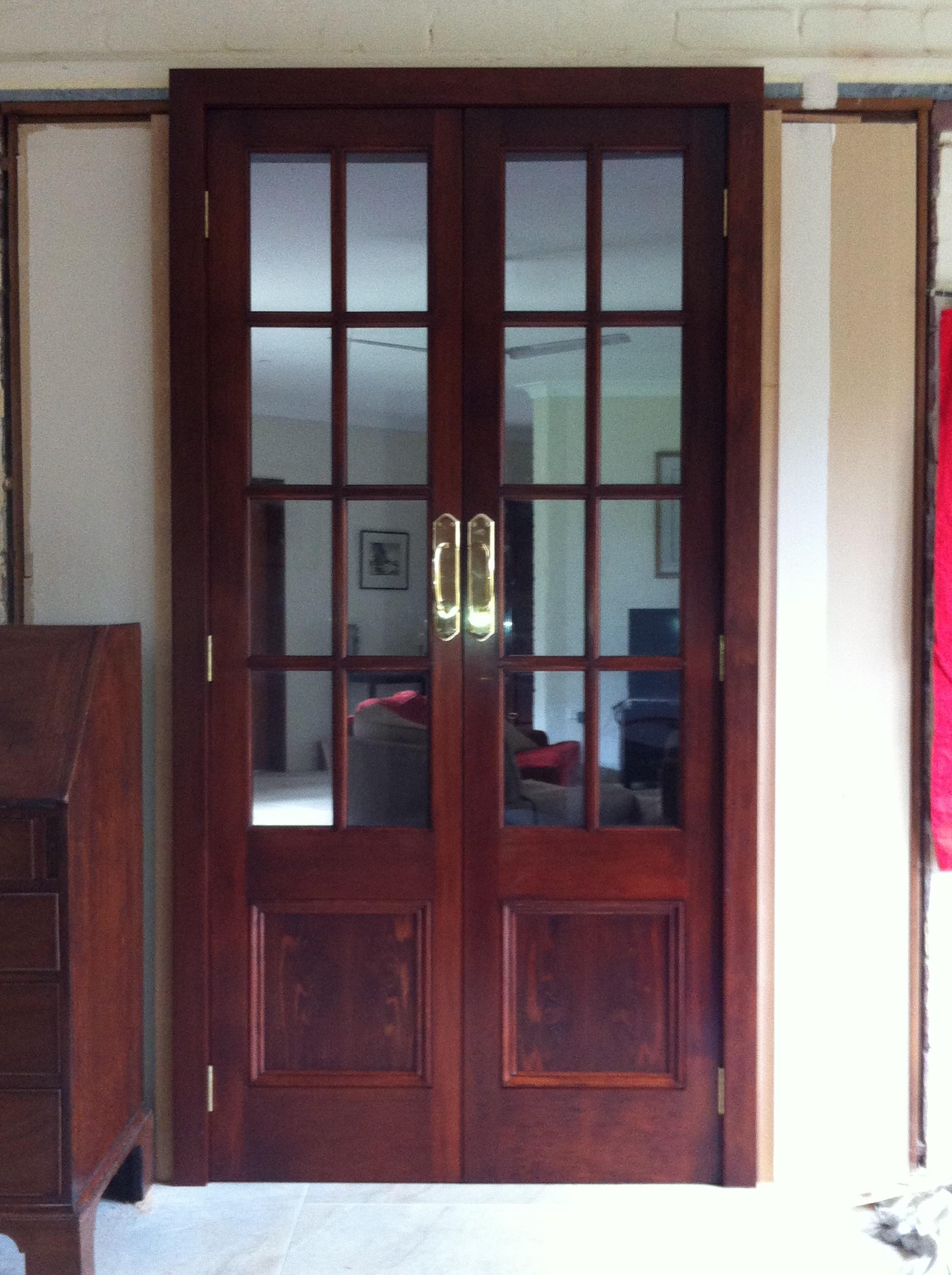 4b - Custom Made 8 Light Doors