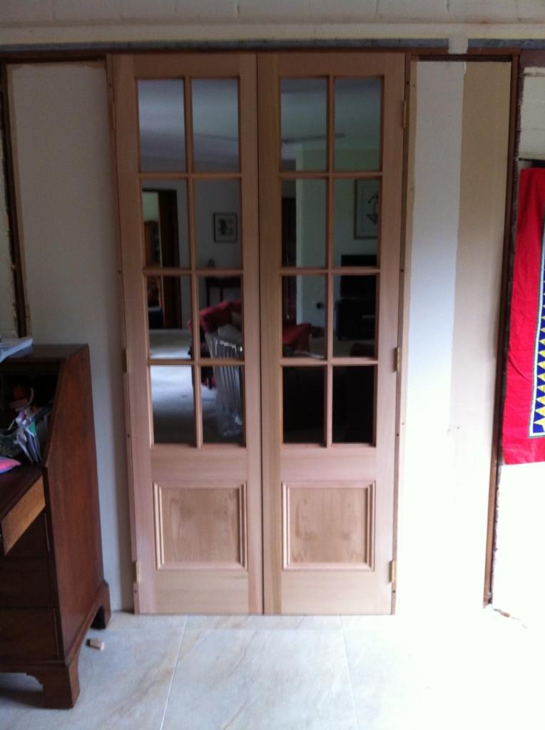 Custom Made Western Red Cedar 8Lite Doors