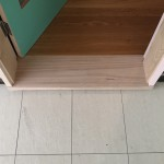 6e Install New Door Jamb and Timber Threshold_
