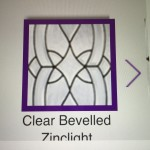Clear Bevel Glass