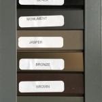 Standard Screen Door Colours