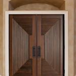 solid external door